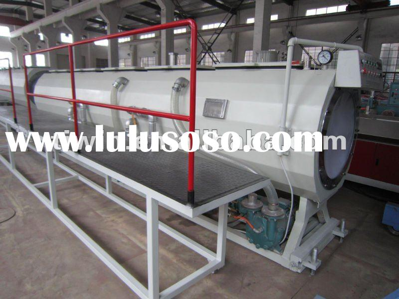 hdpe plastic pipe extrusion line