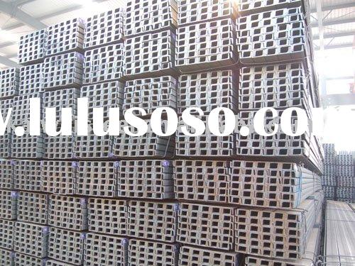 hot rolled steel channel sizes
