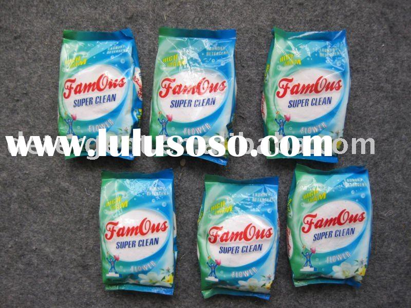 laundry detergent washing powder 200g famous brand