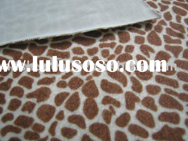 Microfiber Polyester Printed Faux Fur Blanket Luxurious