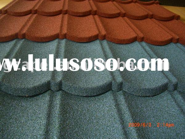 roofing/Color Stone coated metal roofing tile