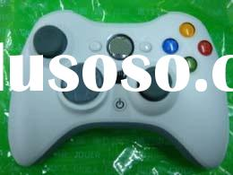 video game accessory xbox 360 wireless controller for xbox 360 joystick black/white Official unit pr