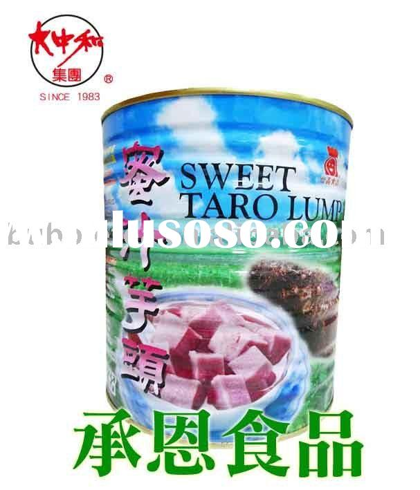 0116-1 Sweet Taro Can for Bubble Tea or Taiwan Shaved Ice