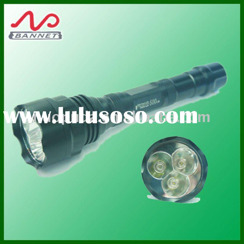 1200 lumen led flashlight rechargeable cree Q5