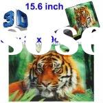 15.6 inch 3D Effects Tiger Picture Laptop Skin Sticker, Size: 39 x 29cm