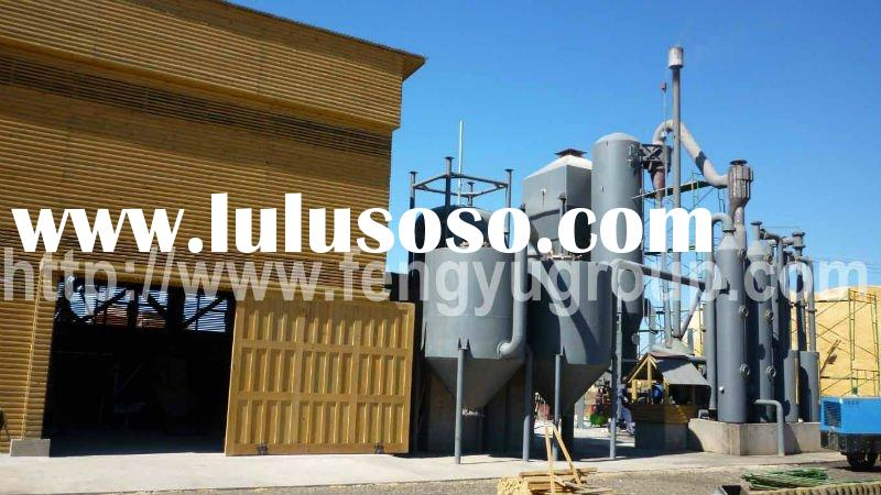 200KW Biomass Gasification Power Generation in Chile