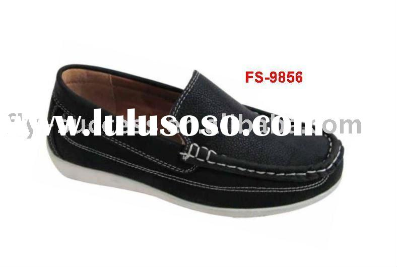 2011 Girls school shoes with leather upper and comfortable design