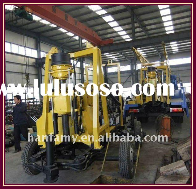 2011 Hot Rig, Electric Motor! HF-3 Water Well Drilling Machine