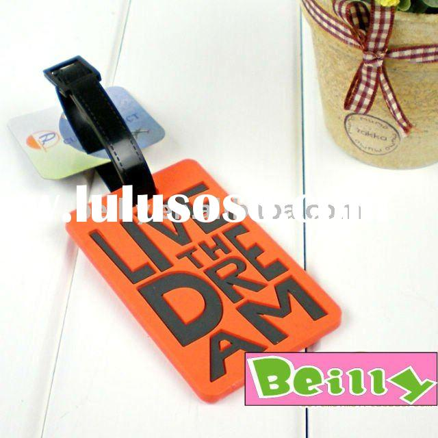 2011 Newest Customized Design Your Own Luggage Tags