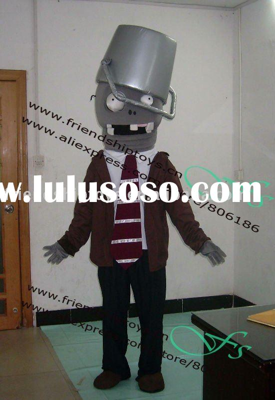 2011 Plant vs Zombies costume mascot