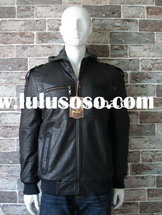 2011 brand name fashion leather jackets