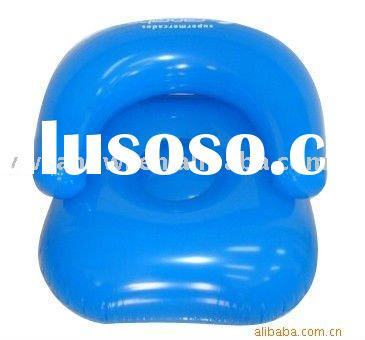 2011 factory direct sale new design PVC inflatable chair for kids play