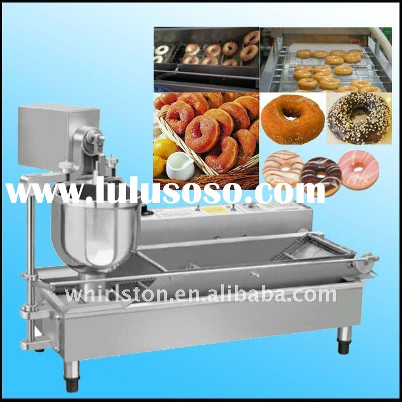 2012 New Arrival Hot automatic stainless steel industrial mini donut machine (CE) 0086 13526859457