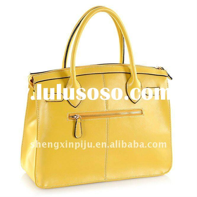 2012 New style fashion leather bag
