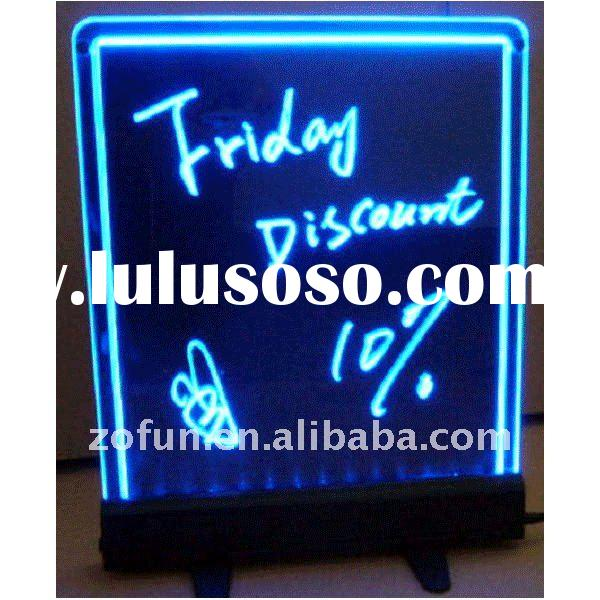 2012 magic led writing board ( Speciality Manufacturer )