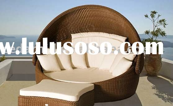 2012 modern sun lounge bed outdoor furniture exhibition 2012hot sale!