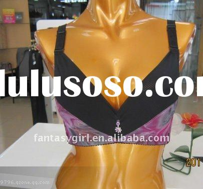 2012 new style transaprent bra and briefs sets cheap price no moq