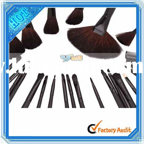 24 Pcs Elegant Professional Makeup Brush Sets Kit With Free Case 24 Pcs