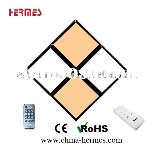 2 Years' Warranty CE/ROHS Approved Ultra-Slim 36w/56w/72w Dimmable 595x595 600x600 LED Panel