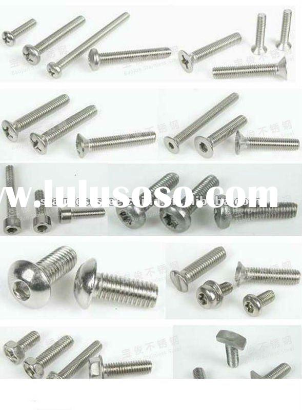 304 Stainless Steel Screw With High Quality