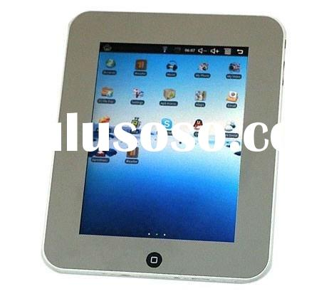 3G + WiFi 8 Inch TFT LCD Touch Widescreen cheap Tablet Notebook with 2.0 MP Camera