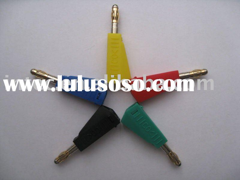 4mm stackable plug lead/safety leads / CO< Brand