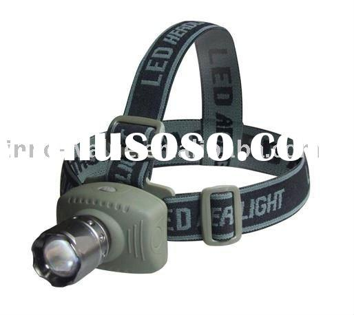 5W 6-Mode cree LED 300LM Zoom Head Lamp Light Torch