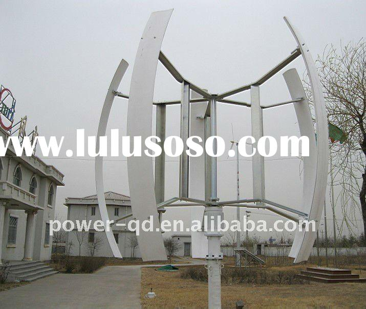 5kw vertical axis wind turbine and solar panel hybrid system