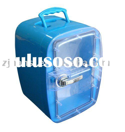 6L potable mini DC 12V car fridge
