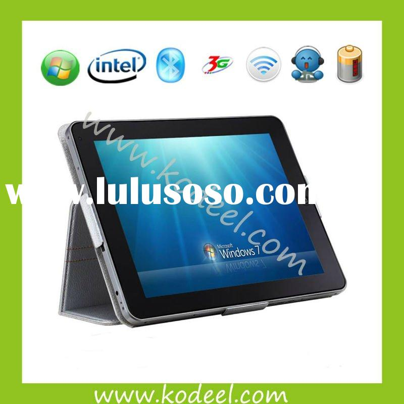 9.7 inch windows 7 tablet pc with capacitive screen Intel Atom Z530 1.66G CPU 1G DDR2 16G SSD