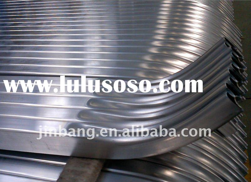 Aluminium profile extrusion bending