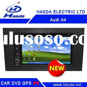 Audi A4 Car PC player ,2 Din Car PC player , windows XP system