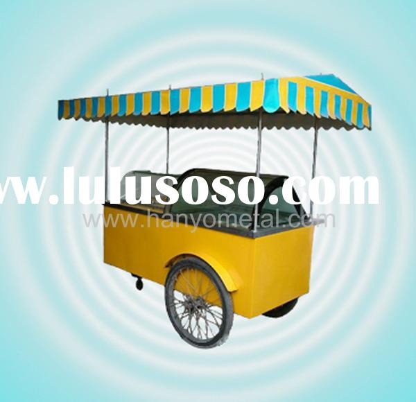 BG04 Ice cream display cabinet car with canopy