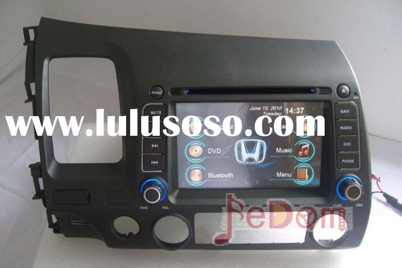 Car Audio DVD player MP3 iPod Bluetooth GPS for Honda Civic