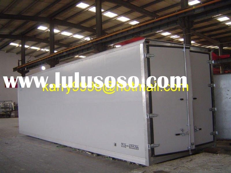 Colour Steel Refrigerated Truck Box Bodies, Colour Steel Refrigerated Truck Body Panel, CBU Refriger