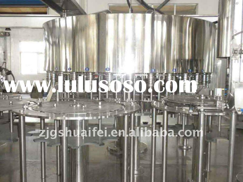 Complete mineral water production line plant