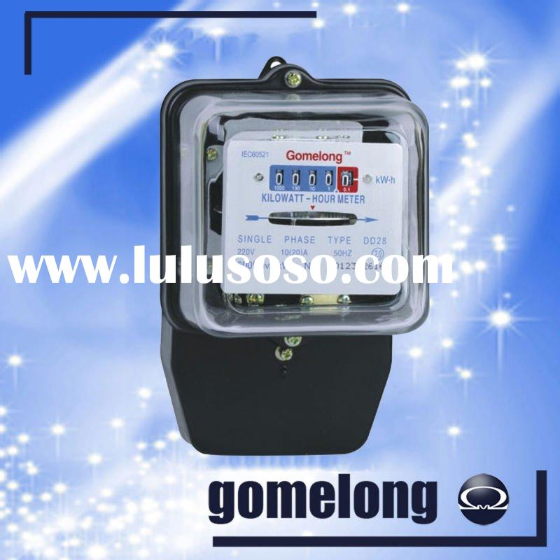 DD28 single phase digital electric meter reading