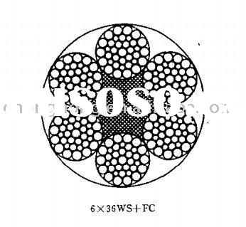 DIN3064 Hot Dipped galvanized Steel Wire Rope