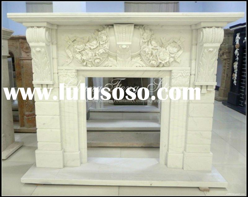Decorative Carved Stone Mantels (Stock)