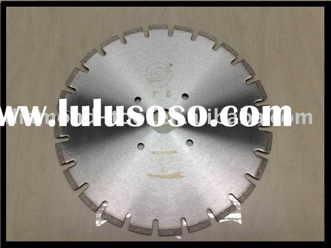 Diamond Circular Saw Blade for Concrete Cutting (segmented, laser welded, big U tooth)