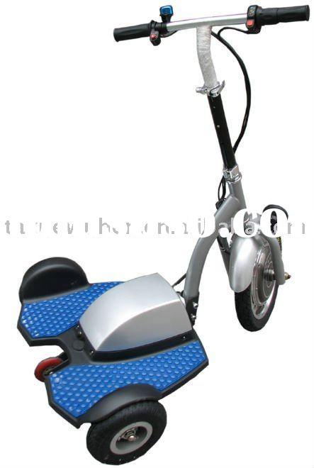 Electric scooter 3 wheels with stand up style
