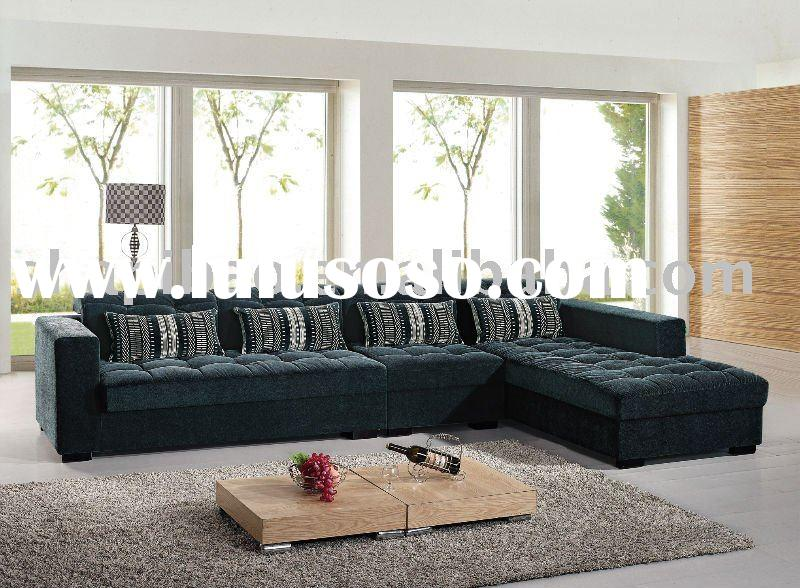 Fabric Sectional Sofa Chaise Chair Set Couch home furniture
