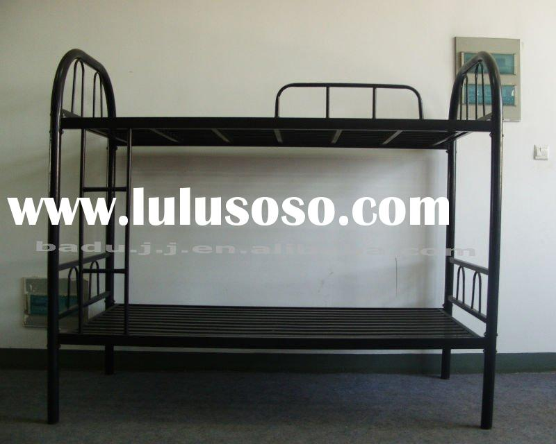 For school or military new cheap strong metal frame bunk beds