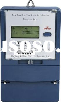 GPRS Three Phase Multifunction Electronic Meter ( energy meter , GPRS meter )