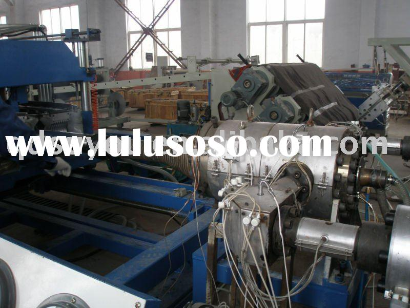 HDPE Double Wall Corrugated Pipe plastic extrusion machine