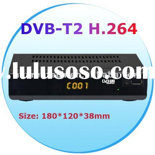 HD MPEG4 DVB-T2 Set Top Box Receiver