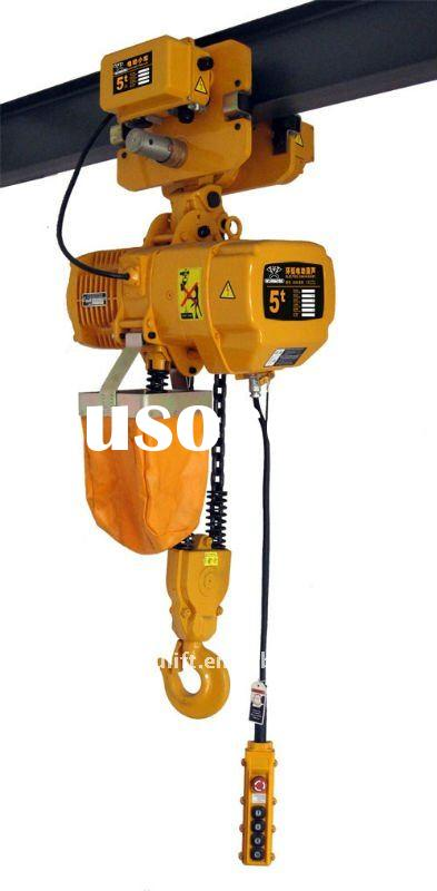 Electric Hoist With Manual Trolley For Sale Price
