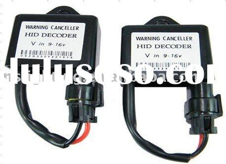 HID Warning canceller/ HID Decoder/ HID Error Canceller