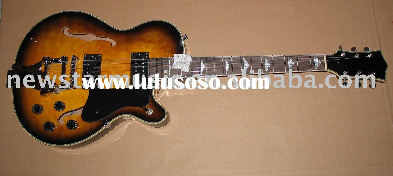 HOLLOW BODY ACOUSTIC ELECTRIC GUITARS MUSICAL INSTRUMENTS