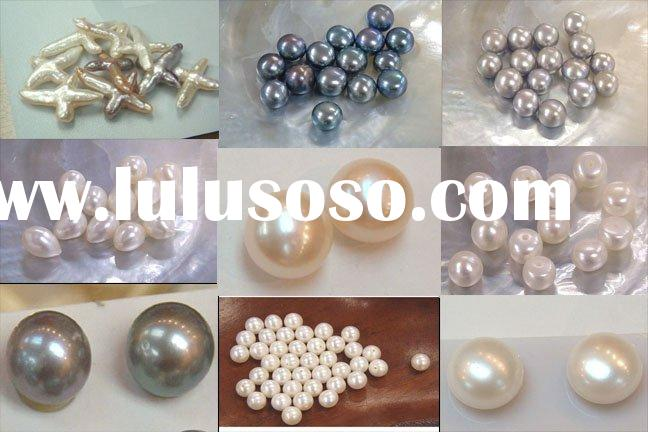 Half drilled pearl(all colors and all size between 3mm-13 mm)